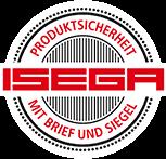 Izdvajamo iz ponude ISEGA certifikat - tisak za prehrambenu ambalažu