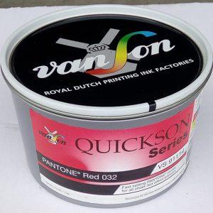 Pantone Red 032 (1 x 1 kg) svjetlostalnost 5/6 | Boje | Grafmat usluge