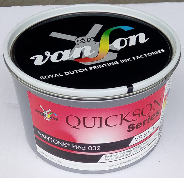 Pantone Red 032 (1 x 1 kg) svjetlostalnost 5/6   Boje   Grafmat usluge