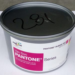 Pantone Rubine Red (1 x 1 kg), svjetlostalnost 5, Royal Dutch Van Son