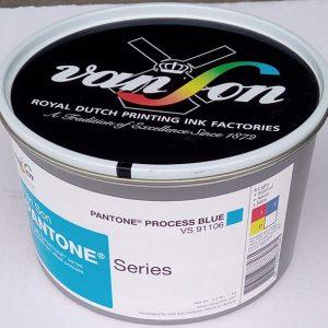 Pantone Process Blue (1 x 1 kg) , svjetlostalnost 8   Boje   Grafmat usluge