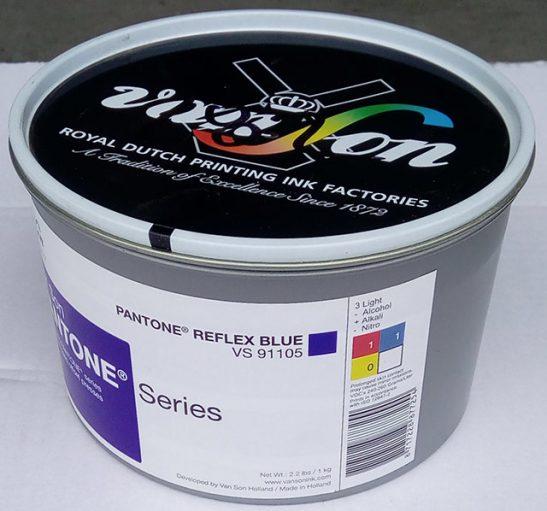 Pantone Reflex Blue (1 x 1 kg), svjetlostalnost 3