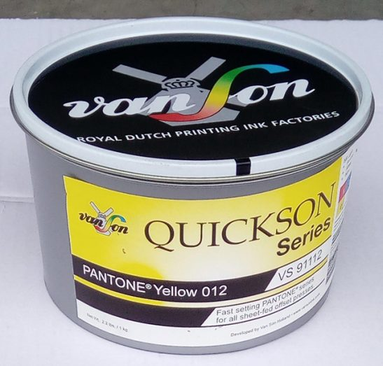 Pantone Yellow 012 (1 x 1 kg), svjetlostalnost 5/6, Royal Dutch Van Son